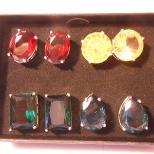 Avon Fancy Stud Pierced Earring Four Pack